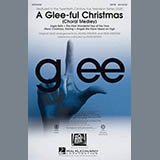 Glee Cast A Glee-ful Christmas (Choral Medley)(arr. Mark Brymer) - Drums Sheet Music and Printable PDF Score | SKU 302982