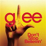 Glee Cast Don't Stop Believin' Sheet Music and Printable PDF Score | SKU 102337