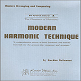 Download or print Gordon Delamont Modern Harmonic Technique, Vol. 1 Digital Sheet Music Notes and Chords - Printable PDF Score