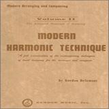 Gordon Delamont Modern Harmonic Technique, Volume 2 Sheet Music and Printable PDF Score | SKU 404783