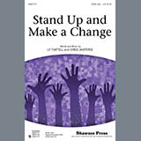 Greg Jasperse Stand Up And Make A Change - Drum (Opt. Set) Sheet Music and Printable PDF Score | SKU 302574