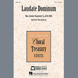 Marc-Antoine Charpentier Laudate Dominum Sheet Music and Printable PDF Score | SKU 160069