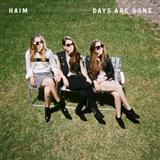 Download or print Haim Days Are Gone Digital Sheet Music Notes and Chords - Printable PDF Score