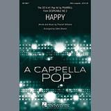 Pharrell Williams Happy (arr. Deke Sharon) Sheet Music and Printable PDF Score   SKU 158670
