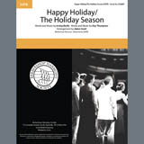 Andy Williams Happy Holiday/The Holiday Season (arr. Adam Scott) Sheet Music and Printable PDF Score | SKU 407173