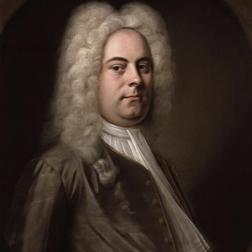 George Frideric Handel Harp Concerto in B Flat Sheet Music and Printable PDF Score | SKU 28056