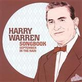 Download Harry Warren 'September In The Rain' Digital Sheet Music Notes & Chords and start playing in minutes