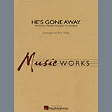 Rick Kirby He's Gone Away (An American Folktune Setting for Concert Band) - Bb Clarinet 1 Sheet Music and Printable PDF Score   SKU 278217