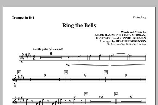 Heather Sorenson Ring The Bells - Bb Trumpet 1 sheet music notes printable PDF score