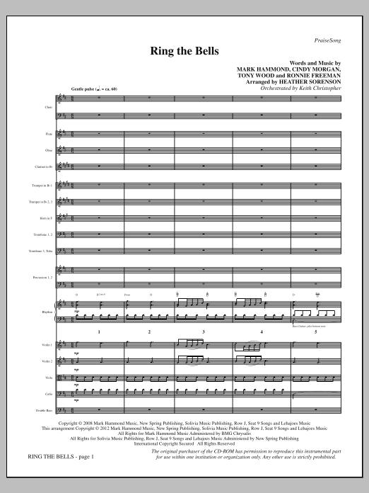 Heather Sorenson Ring The Bells - Full Score sheet music notes printable PDF score