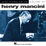 Henry Mancini A Cool Shade Of Blue [Jazz version] (arr. Brent Edstrom) Sheet Music and Printable PDF Score | SKU 162679
