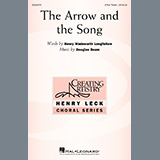 Henry Wadsworth Longfellow and Douglas Beam The Arrow And The Song Sheet Music and Printable PDF Score | SKU 437088