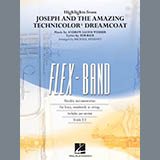 Michael Sweeney Highlights from Joseph and the Amazing Technicolor Dreamcoat - Percussion 2 Sheet Music and Printable PDF Score   SKU 381797
