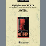 Ted Ricketts Highlights from Wicked - Bb Clarinet 2 Sheet Music and Printable PDF Score | SKU 286925