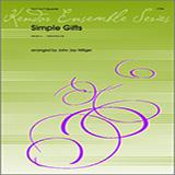 Hilfiger Simple Gifts - Full Score Sheet Music and Printable PDF Score   SKU 313668