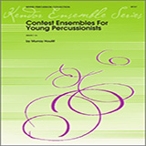 Download or print Houllif Contest Ensembles For Young Percussionists - Percussion 2 Digital Sheet Music Notes and Chords - Printable PDF Score