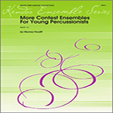 Download or print Houllif More Contest Ensembles For Young Percussionists - Percussion 3 and 4 Digital Sheet Music Notes and Chords - Printable PDF Score