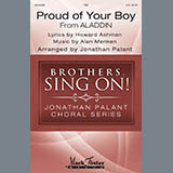 Howard Ashman and Alan Menken Proud Of Your Boy (from Aladdin: The Broadway Musical) (arr. Jonathan Palant) Sheet Music and Printable PDF Score | SKU 430103