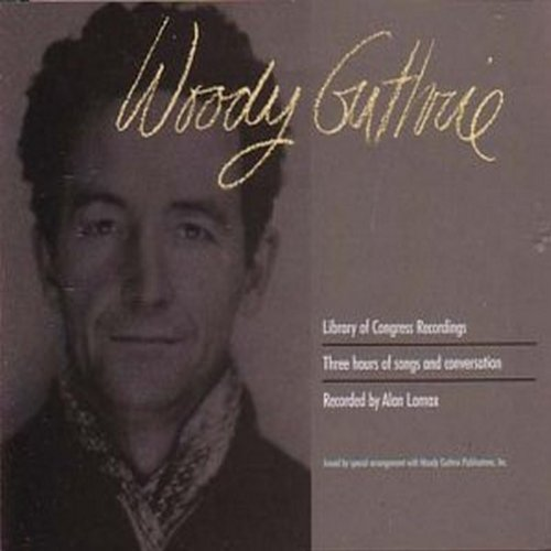 Woody Guthrie image and pictorial