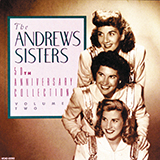 The Andrews Sisters I Can Dream, Can't I? (from Right This Way) Sheet Music and Printable PDF Score   SKU 77482