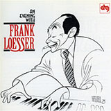 Frank Loesser I Hear Music Sheet Music and Printable PDF Score | SKU 61238