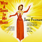 Jane Froman I'll Walk Alone (from With A Song In My Heart) Sheet Music and Printable PDF Score   SKU 57187