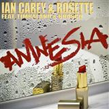 Download or print Ian Carey & Rosette Amnesia (feat. Timbaland and Brasco) Digital Sheet Music Notes and Chords - Printable PDF Score