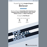Imagine Dragons Believer (arr. Mark Brymer) - Synthesizer Sheet Music and Printable PDF Score | SKU 370494