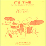 Mel Lewis It's Time For The Big Band Drummer Sheet Music and Printable PDF Score | SKU 124971