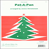 Download or print James Christensen Pat-a-Pan - 4th Flute Digital Sheet Music Notes and Chords - Printable PDF Score