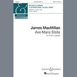 James MacMillan Ave Maris Stella Sheet Music and Printable PDF Score | SKU 187212