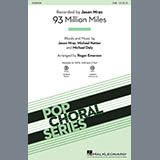 Jason Mraz 93 Million Miles (arr. Roger Emerson) Sheet Music and Printable PDF Score | SKU 421709