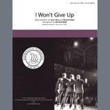 Jason Mraz I Won't Give Up (arr. Marshall Webb) Sheet Music and Printable PDF Score   SKU 407070