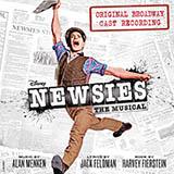 Jeremy Jordan Santa Fe (from Newsies: The Musical) Sheet Music and Printable PDF Score   SKU 417193