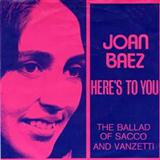 Download or print Joan Baez Here's To You Digital Sheet Music Notes and Chords - Printable PDF Score