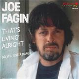 Download or print Joe Fagin That's Livin' Alright Digital Sheet Music Notes and Chords - Printable PDF Score