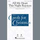 Johann Georg Ebeling All My Heart This Night Rejoices (arr. John Leavitt) Sheet Music and Printable PDF Score | SKU 407158