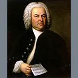 Johann Sebastian Bach Minuet Sheet Music and Printable PDF Score | SKU 364046