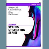 John Caponegro Pomp And Circumstance - Viola Sheet Music and Printable PDF Score   SKU 374144