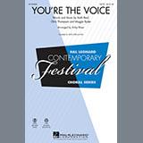 John Farnham You're the Voice (arr. Kirby Shaw) - Bb Tenor Saxophone Sheet Music and Printable PDF Score | SKU 339657
