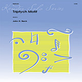 John H. Beck Triptych Motif Sheet Music and Printable PDF Score | SKU 371336