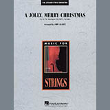 John Leavitt A Jolly, Merry Christmas - Percussion 1 Sheet Music and Printable PDF Score | SKU 281692