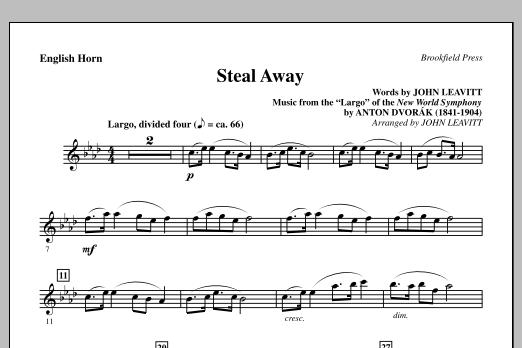 John Leavitt Steal Away (Steal Away To Jesus) - English Horn sheet music notes printable PDF score