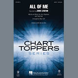 John Legend All of Me (arr. Mac Huff) - Synthesizer Sheet Music and Printable PDF Score | SKU 333917