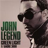 John Legend featuring Andre 3000 Green Light Sheet Music and Printable PDF Score | SKU 158947