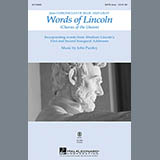 John Purifoy Words of Lincoln - Contrabass Sheet Music and Printable PDF Score | SKU 320297