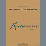 John Wasson The Relentless Warrior - Mallet Percussion 1 Sheet Music and Printable PDF Score | SKU 456049