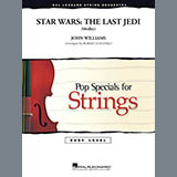John Williams Star Wars: The Last Jedi (Medley) (arr. Robert Longfield) - Violin 1 Sheet Music and Printable PDF Score | SKU 405275