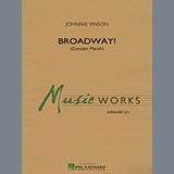 Download Johnnie Vinson 'Broadway! - Bb Bass Clarinet' Digital Sheet Music Notes & Chords and start playing in minutes