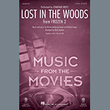 Jonathan Groff Lost In The Woods (from Disney's Frozen 2) (arr. Mark Brymer) Sheet Music and Printable PDF Score | SKU 452867